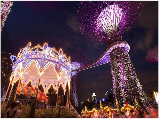 Gợi ý có một Giáng sinh với chi phí tiết kiệm ở Singapore