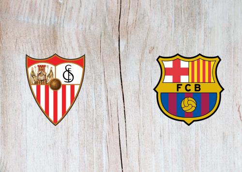 Sevilla vs Barcelona -Highlights 10 February 2021