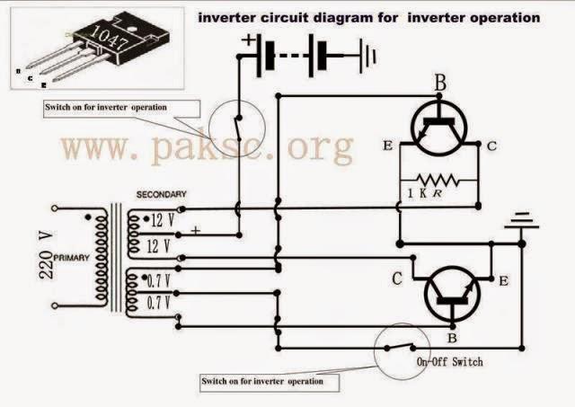 Simple 50 Watt 12 Vdc To 220 Vac Power Inverter Circuits
