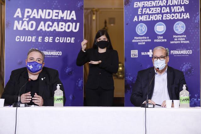 GOVERNO DE PERNAMBUCO PRORROGA POR MAIS 15 DIAS MEDIDAS RESTRITIVAS