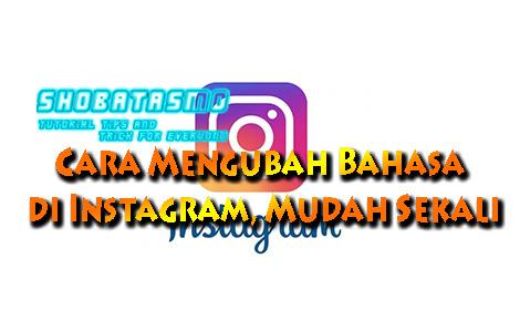 Cara Mengubah Bahasa di Instagram,