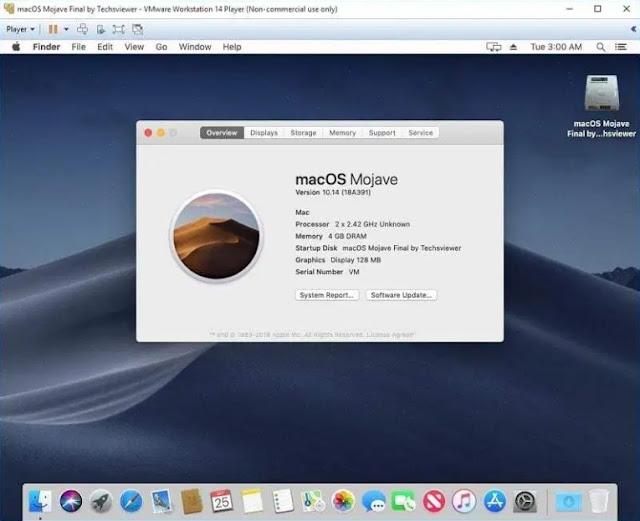 Run you lot Mac OS Virtual Machine alongside VMDK or ISO file