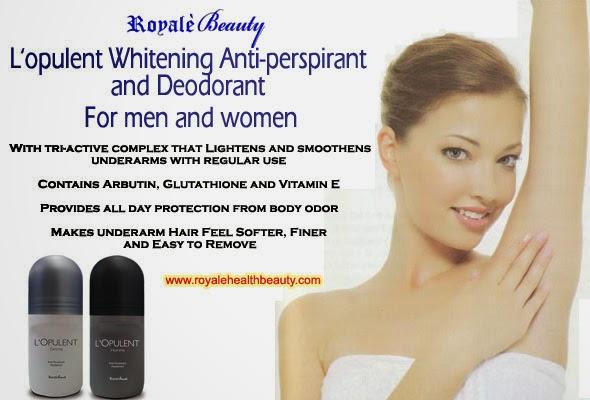 Gluta Whitening Deodorant