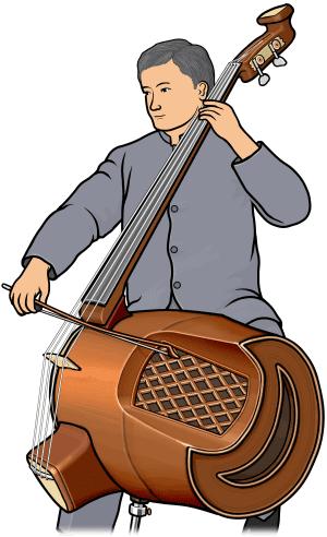 低音革胡  Diyin Gehu