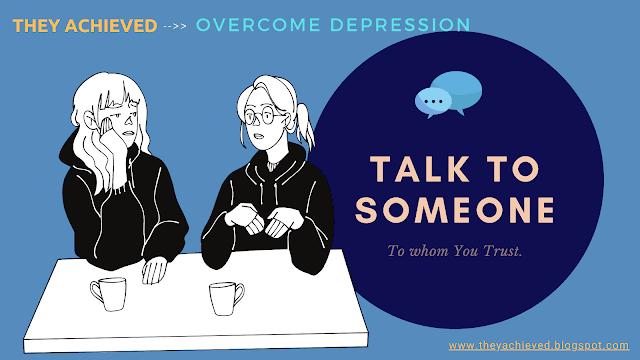 talk to someone