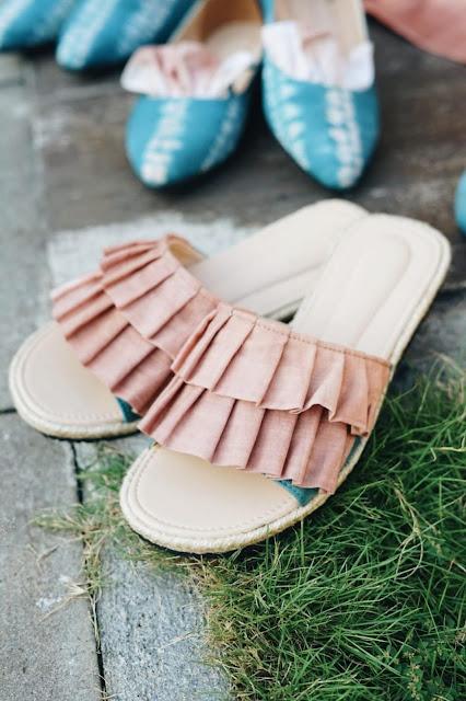 model sepatu wanita terbaru warna sky