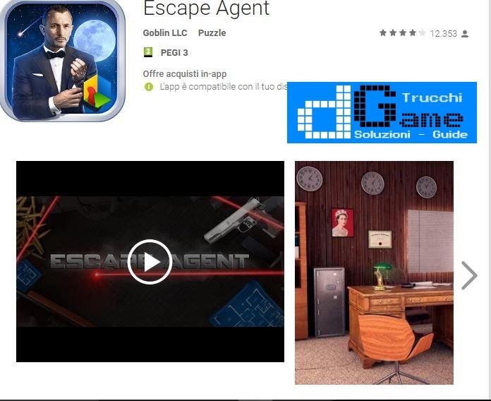 Soluzioni Escape Agent di tutti i livelli | Walkthrough guide