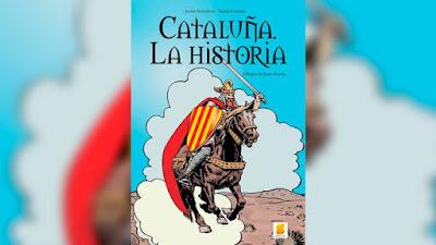 Cataluña, españa, historia, cómic, separatistas,