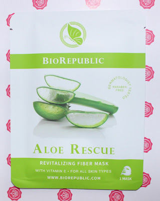 BioRepublic Aloe Rescue Revitalizing Fiber Mask