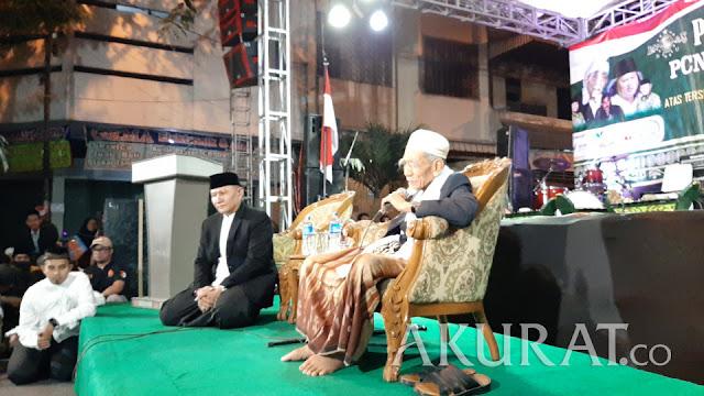 Mbah Moen: Karena Nomor Wahid yang Menang Pak Jokowi