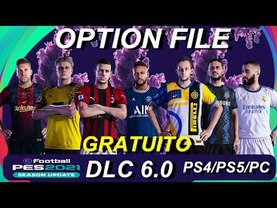 PES 2021 PS4 Option File by DedogGames