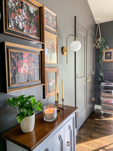 Silhouette benjamin moore dining room