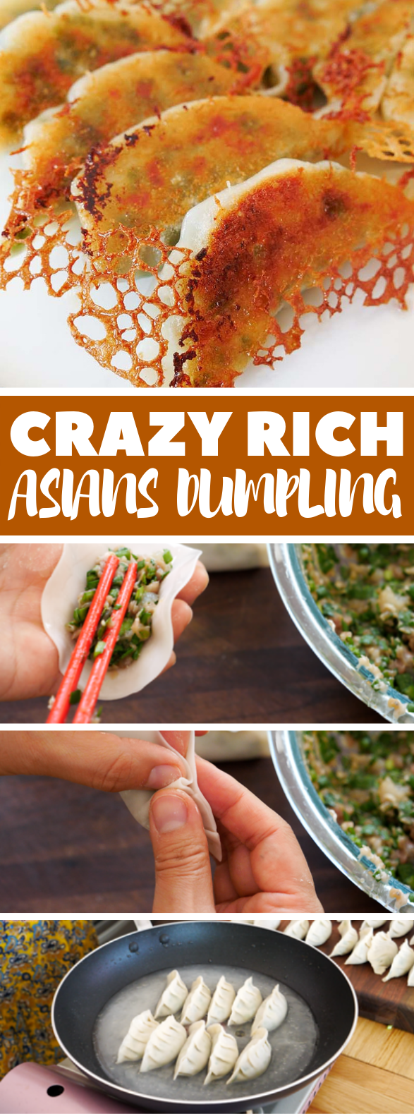CRAZY RICH ASIANS DUMPLING RECIPE #appetizers #asianrecipes