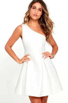 Vestidos blancos juveniles