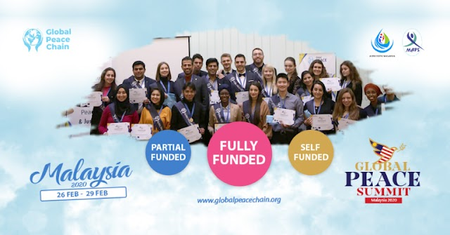 Global Peace Summit 2020 In Malaysia Fully Funded