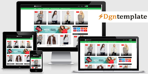 EasyCart Responsive Blogger Template-dgntemplate