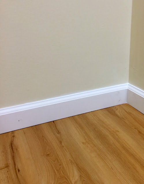 Tips for installing Luxury Plank Vinyl Flooring from a DIY'er.