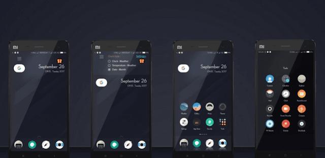 Tema Xiaomi Tembus ROUNDED PIXEL