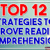 Top 12 Strategies to Improve Reading Comprehension