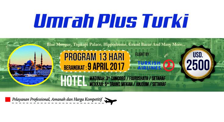 Perjalanan Jamaah Umroh Plus Turki