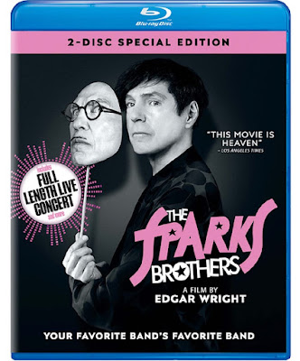 The Sparks Brothers Bluray