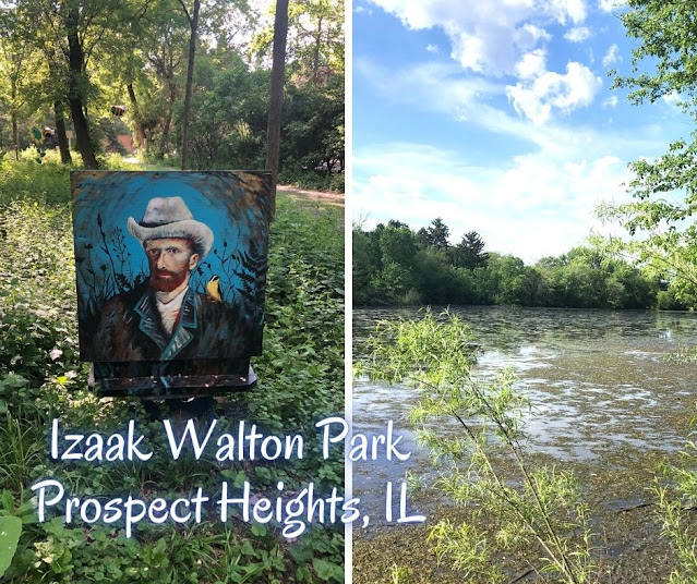 Local Art Pop Up and Nature Trails Charm at Izaak Walton Park in Prospect Heights, Illinois