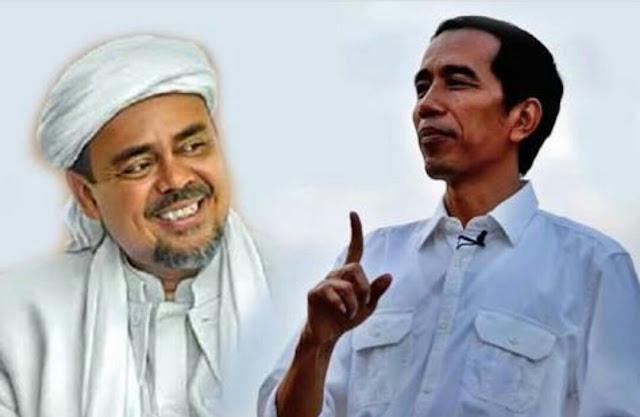 Beredar Gambar Cuitan Akun @ustaztengkuzul Usulkan Habib Rizieq jadi Cawapres Jokowi