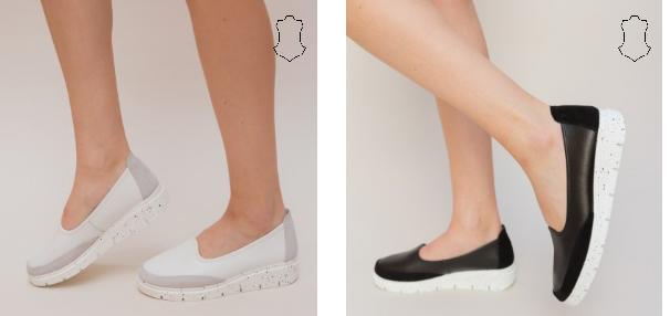 Pantofi Casual Dole Albi, negrei din piele naturala ieftini si frumosi