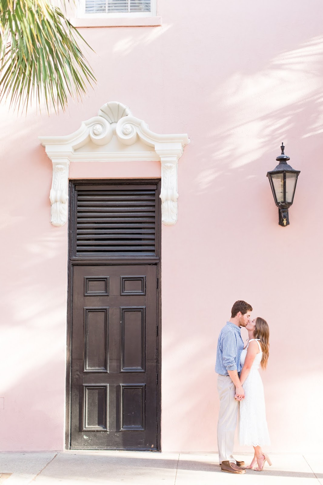 Downtown Charleston Engagement Photoshoot Session - Chasing Cinderella