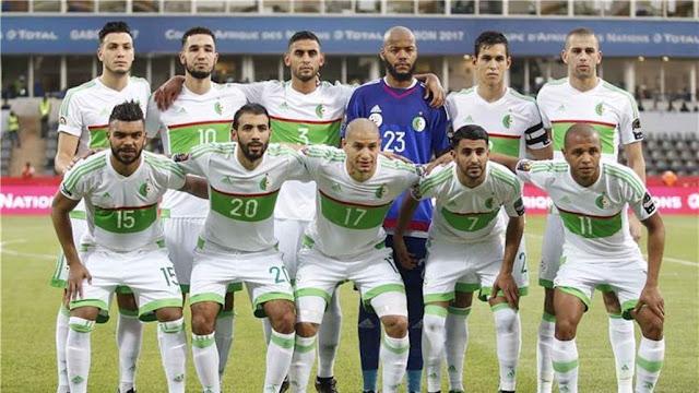الجزائر تعبر السنغال وتتأهل لثمن نهائي امم افريقيا ،