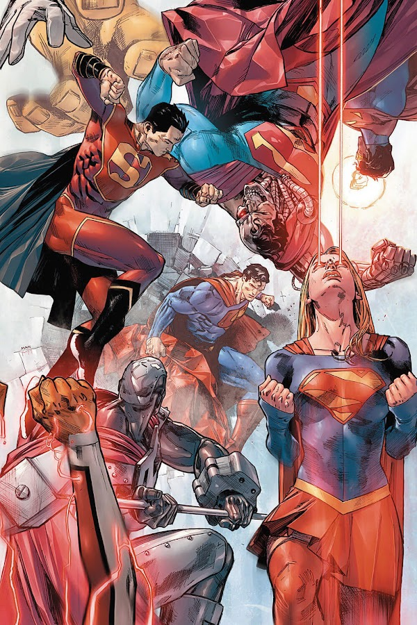superman family dc rebirth