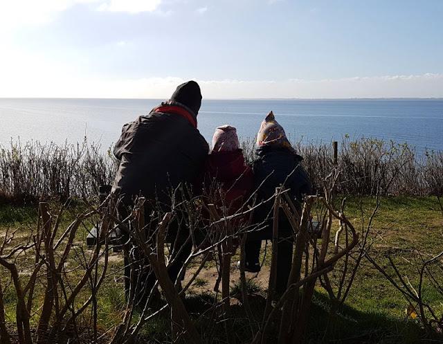 Ein Inselausflug nach Kegnæs. Ein toller Platz für ein Picknick als Familie mit Aussicht!
