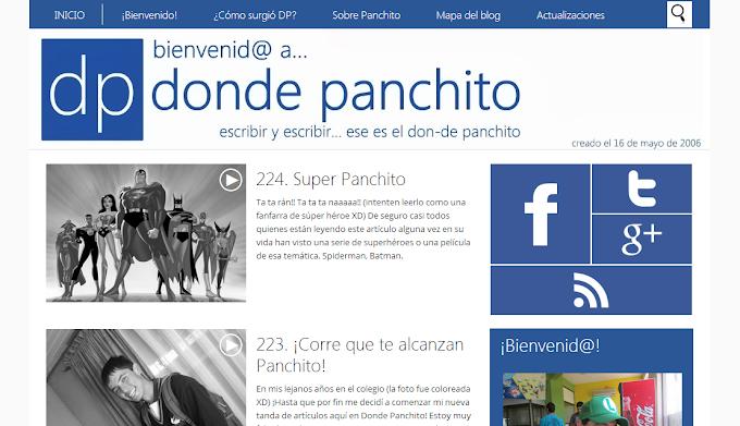 """244. Aniversario número 11 de """"Donde Panchito"""""""