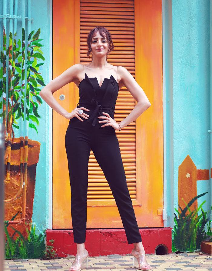 Femme Luxe Black Jumpsuit