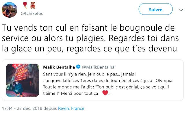 Le comédien et humoriste Malik Bentalha victime du racisme intracommunautaire