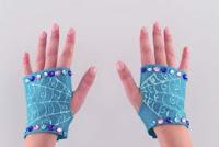 guantes vampirina