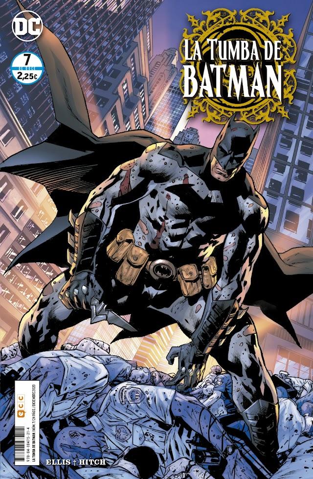 La Tumba de Batman, de Warren Ellis y Bryan Hitch. La Crítica