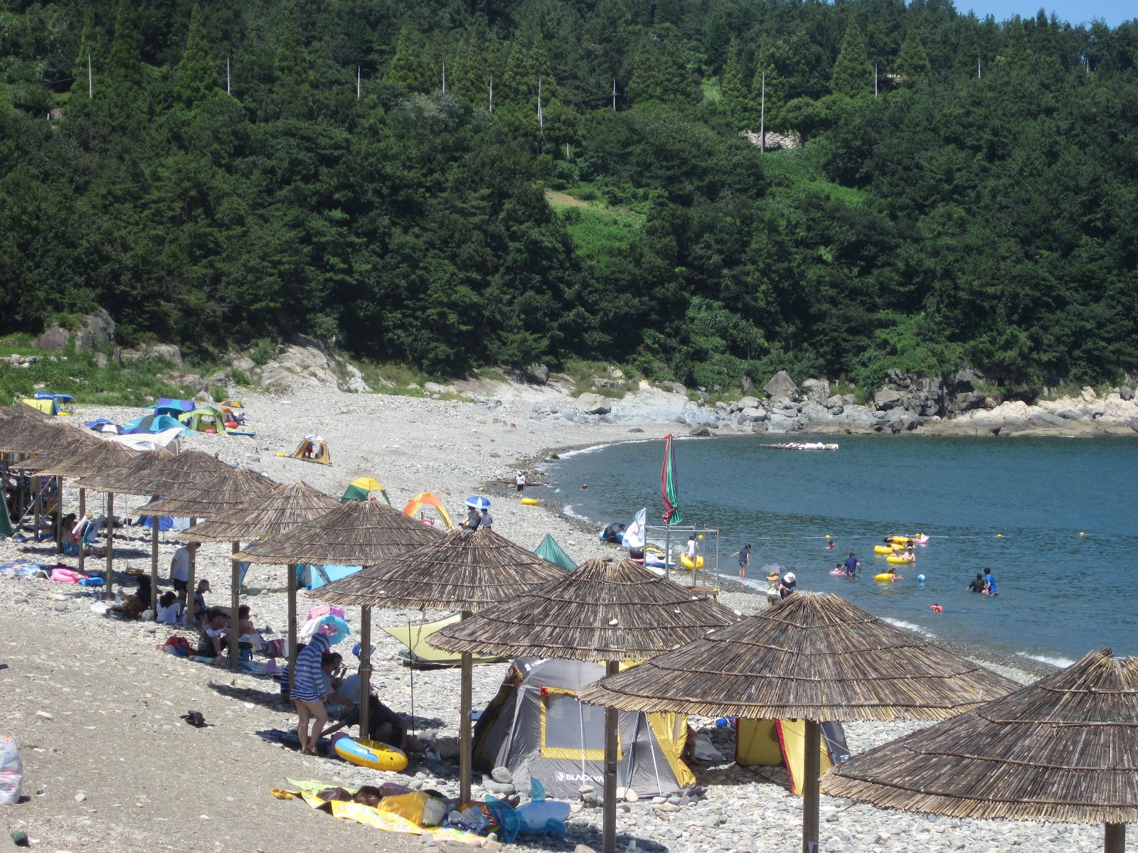 Manseong Ri Beach Yeosu South Korea