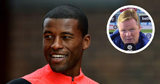 'He's very good and may be an option for the future': Koeman on Georginio Wijnaldum