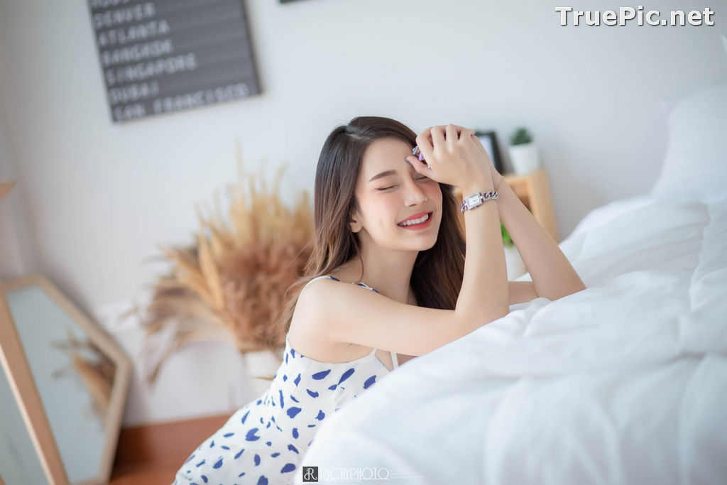 Image Thailand Model - Sasipa Tungmay Jibkrapong - Weekend Morning Dress - TruePic.net - Picture-2