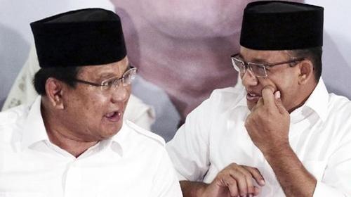 Survei IPO: Elektabilitas Anies Moncer, Prabowo Makin Merosot