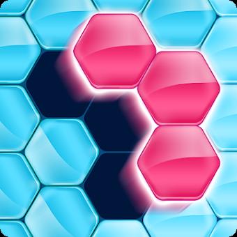 Hex FRVR : drag the hexa block