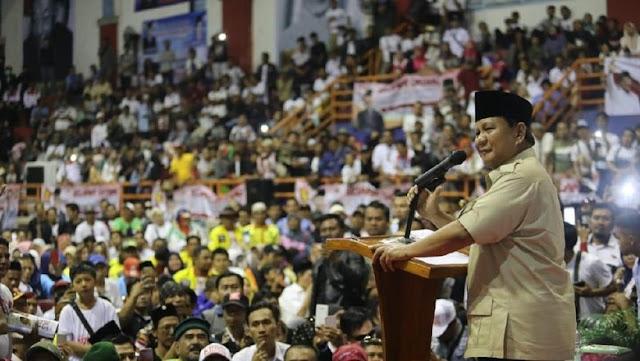 Didepan Warga Subang Prabowo Janji Turunkan Harga Listrik, Sembako dan Tidak akan Impor