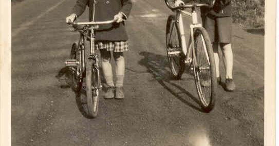 SEPIA SATURDAY 407 Bicycles