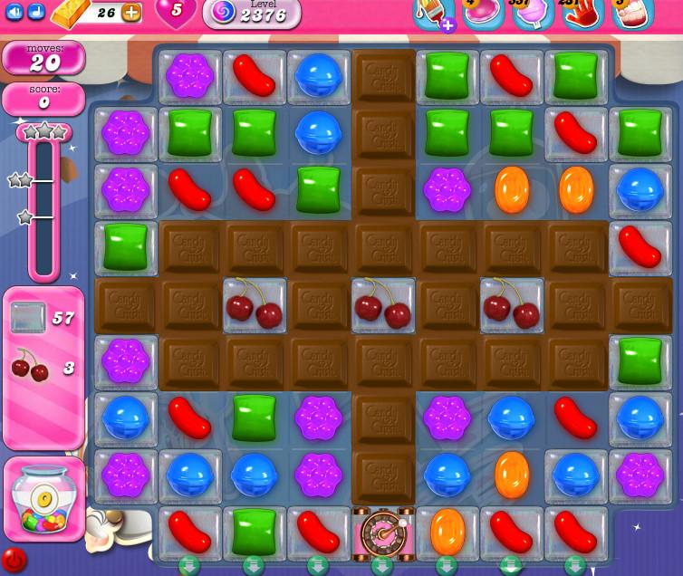 Candy Crush Saga level 2376