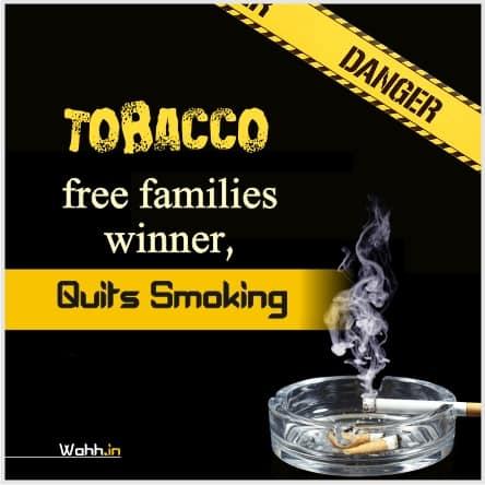 World No Tobacco Day Slogans Hindi