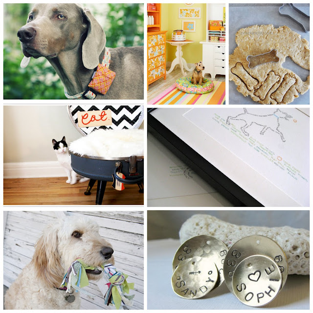 DIY Pet Craft Round Up for Happy Dogs and Cats! :)