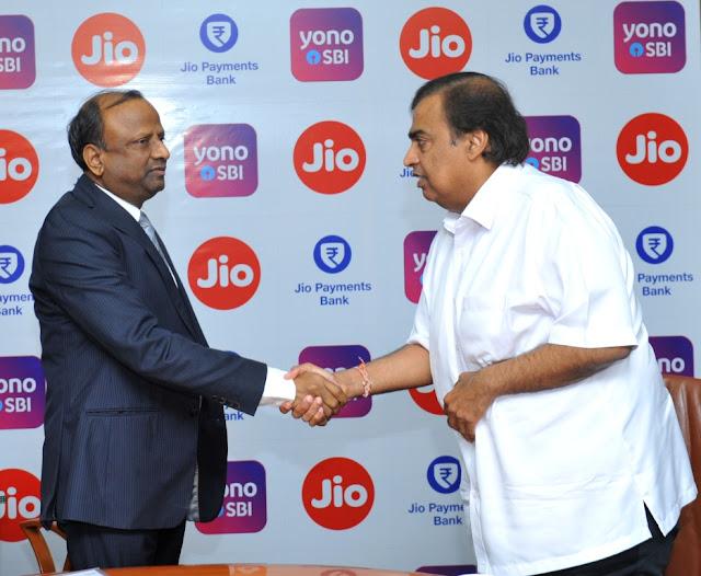 JIO & SBI collaborate to deepen digital partnership