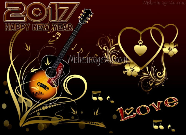 New year 2017 Love Wishes Photos Download