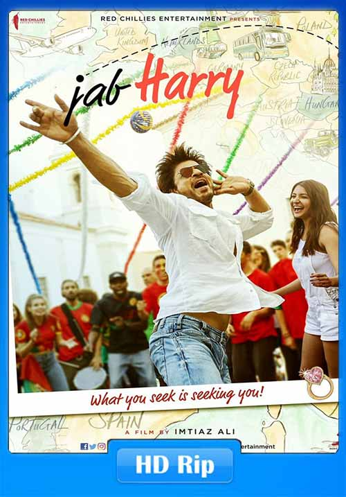 Jab Harry met Sejal 2017 Hindi WEB-DL 480p 400MB x264 Poster